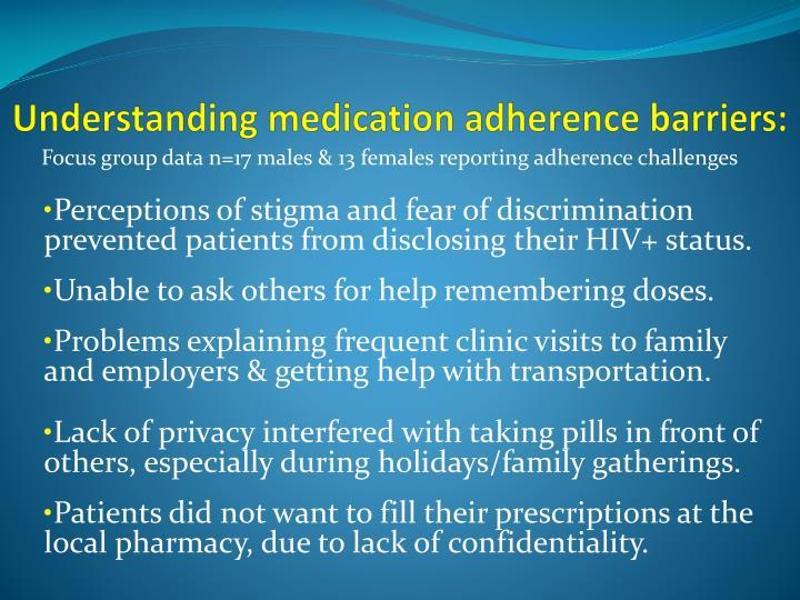 Understanding medication adherence barriers: