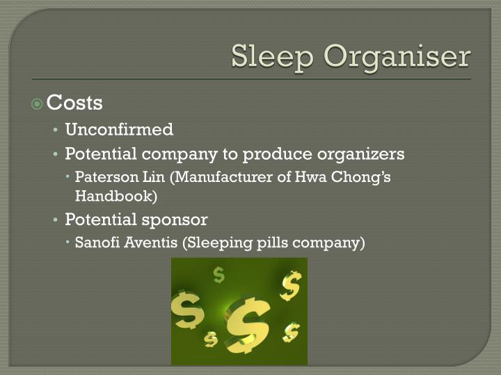 Sleep Organiser