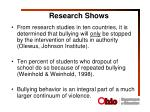 research shows2