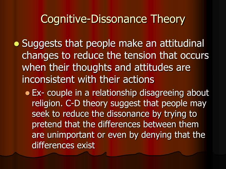 Cognitive-Dissonance Theory
