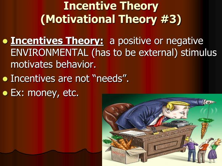 Incentive Theory