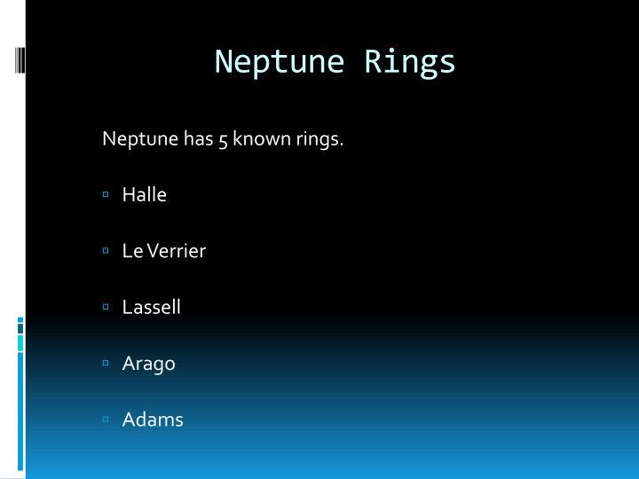 Neptune Rings