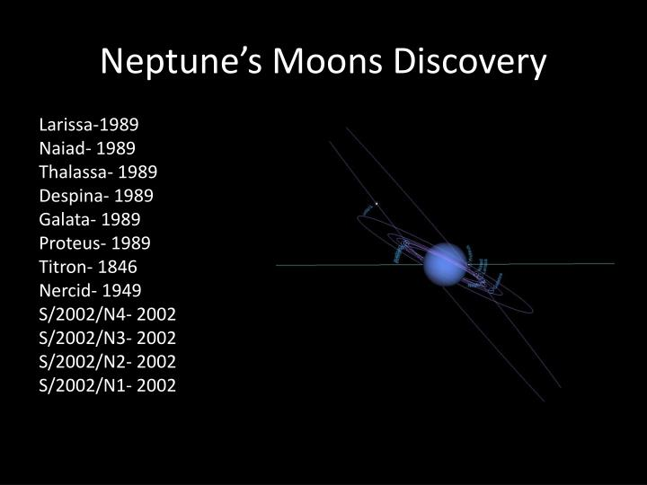 Neptune's Moons Discovery