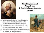 washington and napoleon a study in power through images