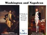 washington and napoleon