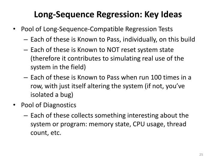 Long-Sequence Regression: Key Ideas