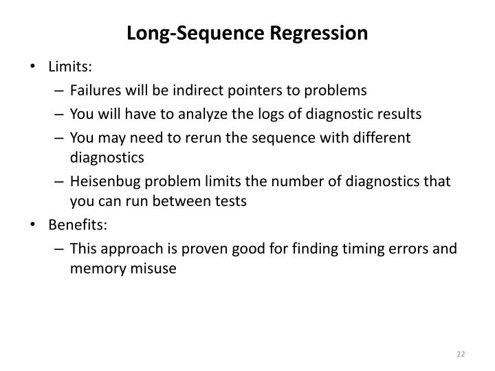 Long-Sequence Regression