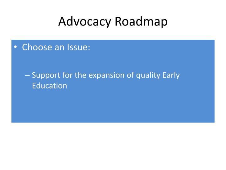 Advocacy Roadmap