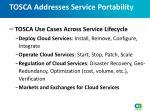 tosca addresses service portability