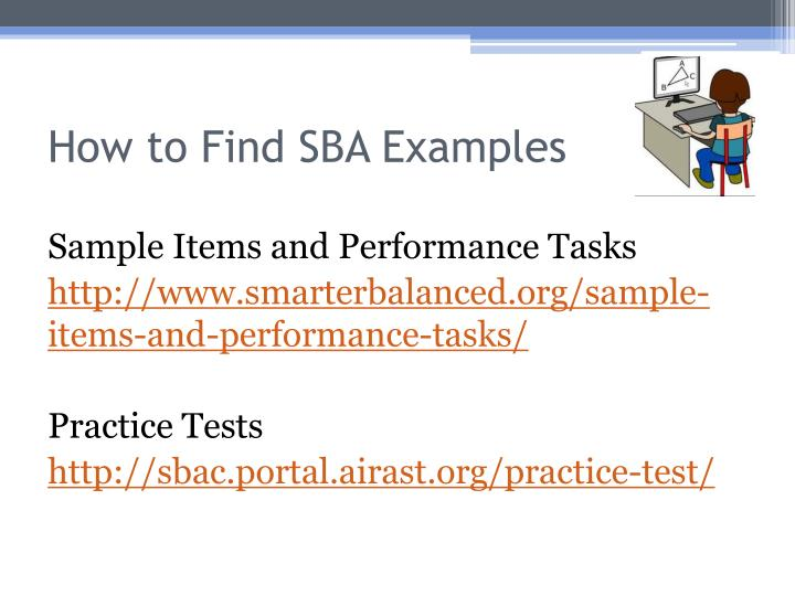 How to Find SBA Examples