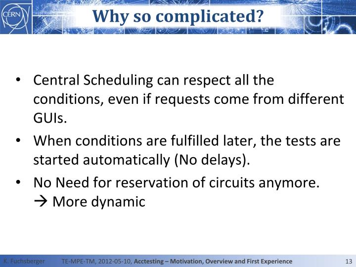 Why so complicated?