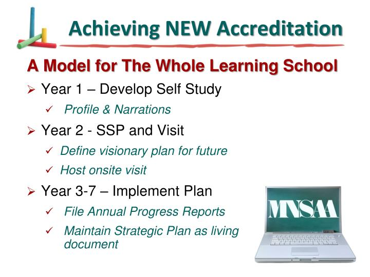 Achieving NEW Accreditation