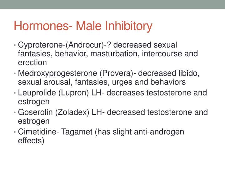 Hormones- Male Inhibitory