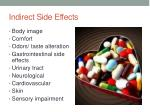 indirect side effects