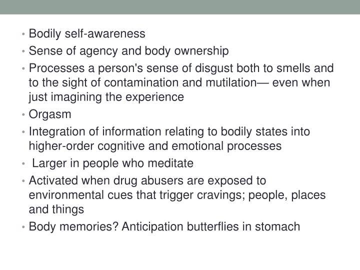 Bodily self-
