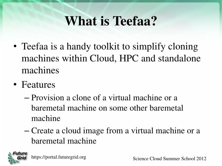 What is Teefaa?