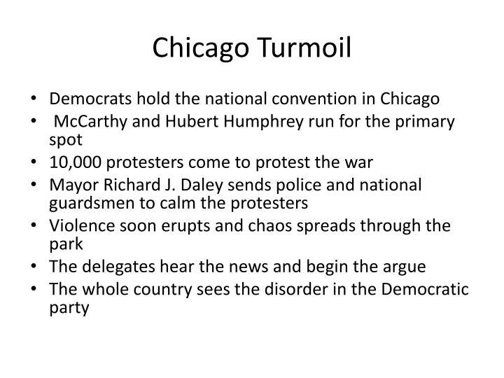 Chicago Turmoil