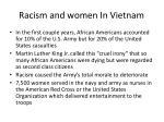 racism and women in vietnam