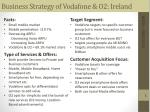 business strategy of vodafone o2 ireland