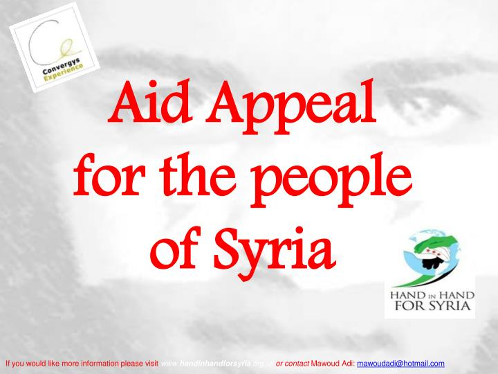 Aid Appeal