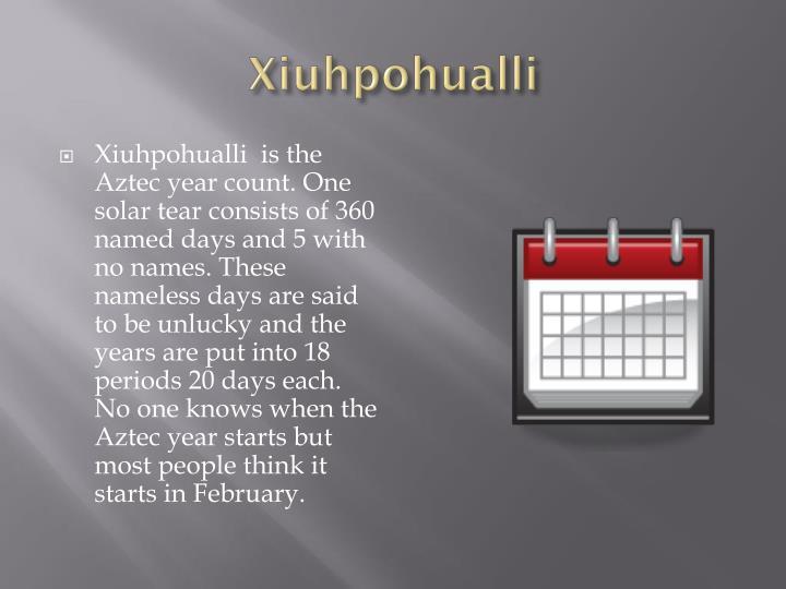 Xiuhpohualli