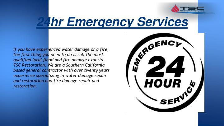 24hr Emergency Services