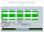 round 1 example win point
