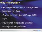 why powershell
