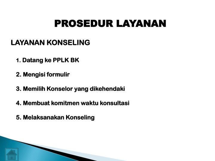 PROSEDUR LAYANAN
