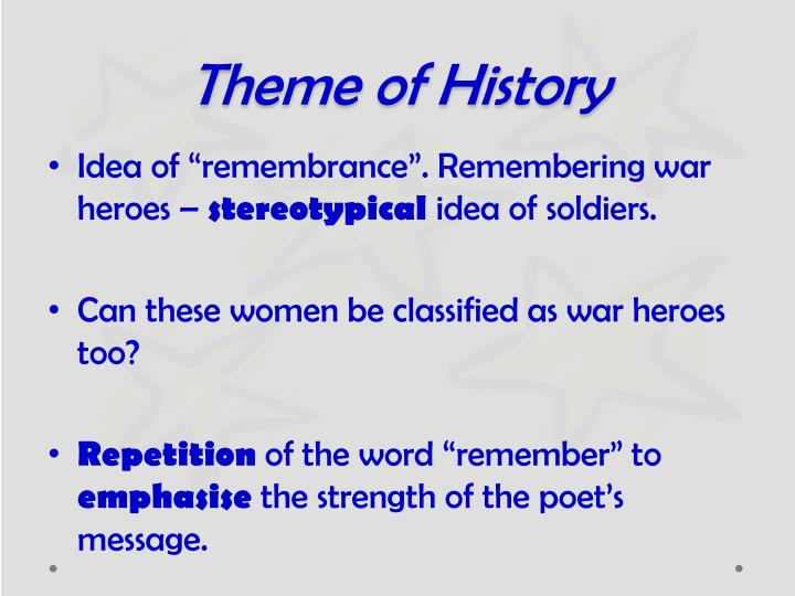 Theme of History