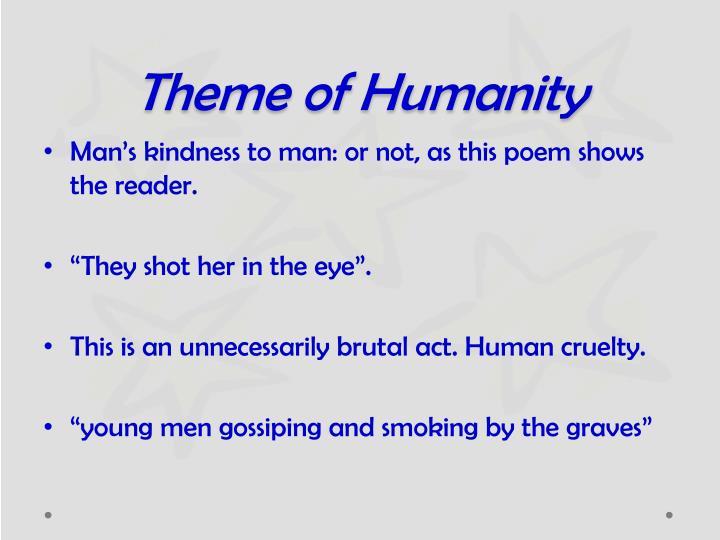 Theme of Humanity
