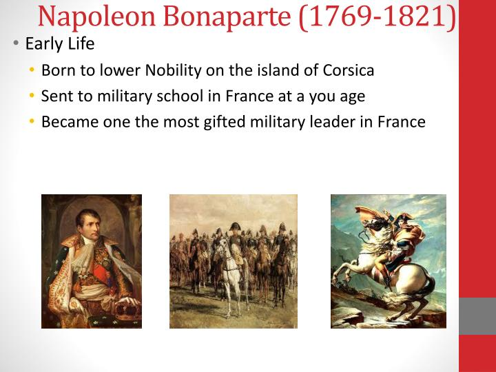 Napoleon Bonaparte (1769-1821)