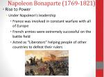 napoleon bonaparte 1769 18211