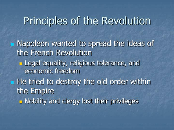 Principles of the Revolution