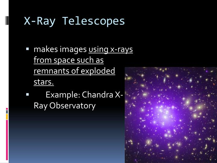 X ray telescopes