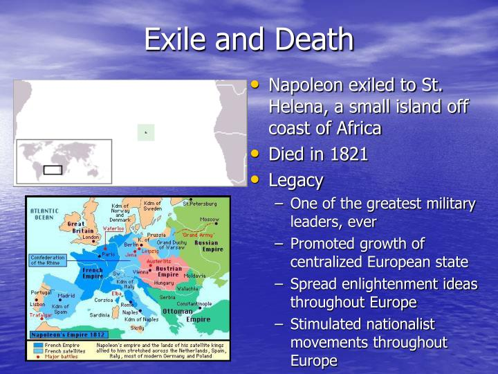 Exile and Death