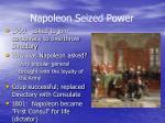 napoleon seized power
