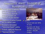 napoleonic wars invasion of russia 1812 13