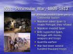 nw peninsular war 1808 1812