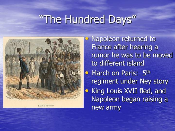 """""""The Hundred Days"""""""