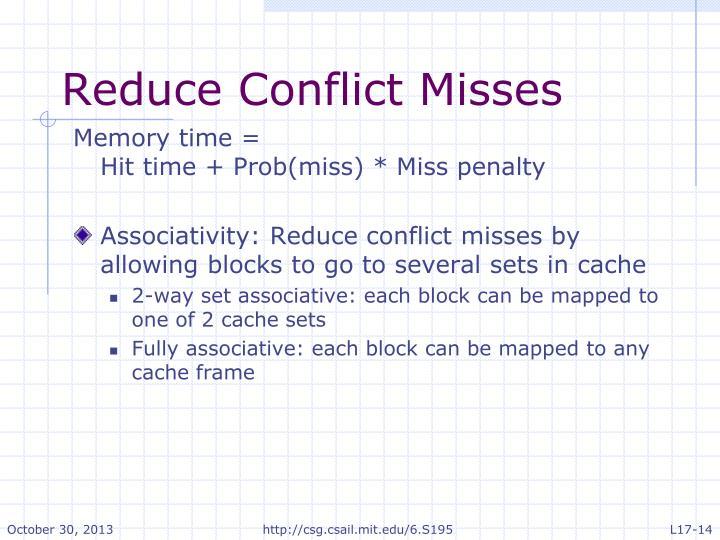 Reduce Conflict