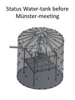status water tank before m nster meeting