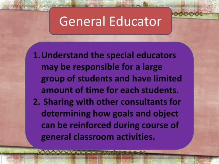 General Educator