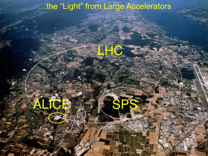 "…the ""Light"" from Large Accelerators"
