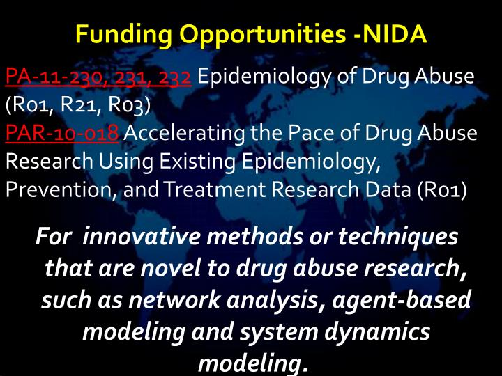 Funding Opportunities -NIDA