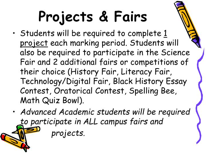 Projects & Fairs