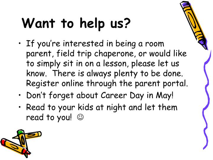 Want to help us?