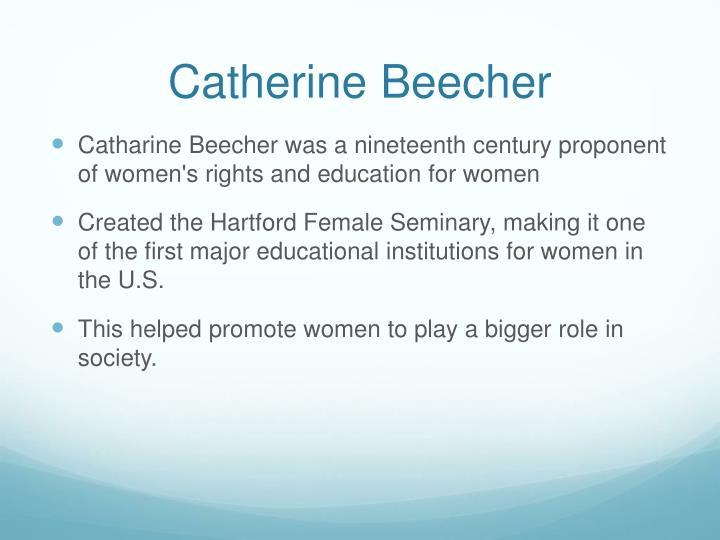 Catherine Beecher