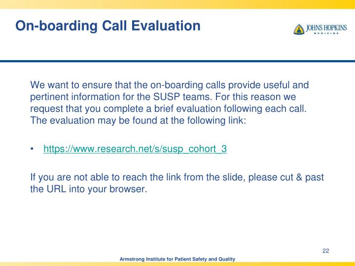 On-boarding Call Evaluation