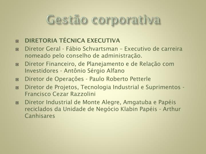 Gestão corporativa